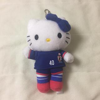 サンリオ(サンリオ)のハローキティ サッカー ぬいぐるみ(記念品/関連グッズ)