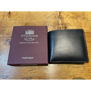 ホワイトハウスコックス(WHITEHOUSE COX)のホワイトハウスコックス 2つ折り財布(折り財布)