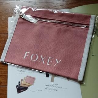 フォクシー(FOXEY)の✿最新✿ FOXEY キャンバスポーチ ノベルティ ピンク(ポーチ)