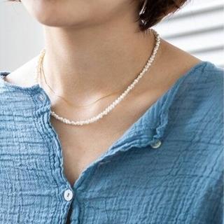 イエナ(IENA)のIENA PEARL ネックレス 40cm(ネックレス)
