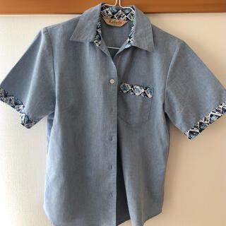 マンゴ(MANGO)のレディース かりゆし(シャツ/ブラウス(半袖/袖なし))