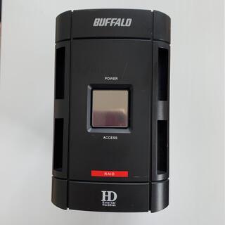 バッファロー(Buffalo)の【RAID1 500Gbyt】BUFFALO HD-W500IU2/R1ドライブ(PCパーツ)