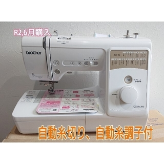 brother - ミシン brother teddy100  フットコントローラー付き