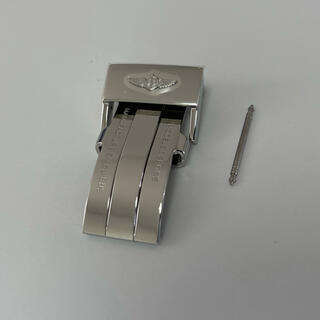 ブライトリング(BREITLING)の未使用 ブライトリング 純正 Dバックル ポリッシュ バックル側 20mm(レザーベルト)