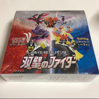 ポケモンカード ポケカ 双璧のファイター シュリンク付 1BOX(Box/デッキ/パック)