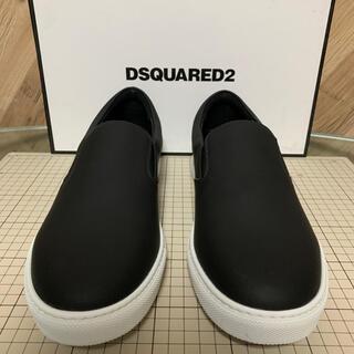 ディースクエアード(DSQUARED2)のDSQUARED2 スリッポン 27㎝ ブラック(スニーカー)