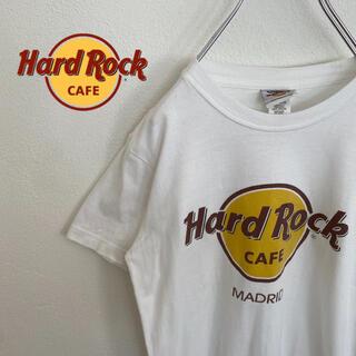 ロックハード(ROCK HARD)の【HardRockCafe】ハードロックカフェ ロゴ入りTシャツ デカロゴ 定番(Tシャツ/カットソー(半袖/袖なし))