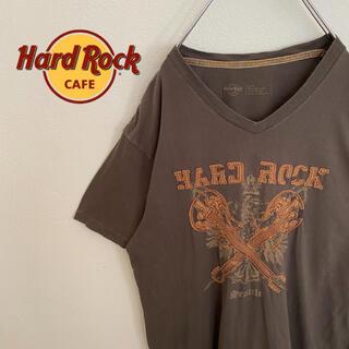 ロックハード(ROCK HARD)の【HardRockCafe】ハードロックカフェ 激レアTシャツ ギター(Tシャツ/カットソー(半袖/袖なし))