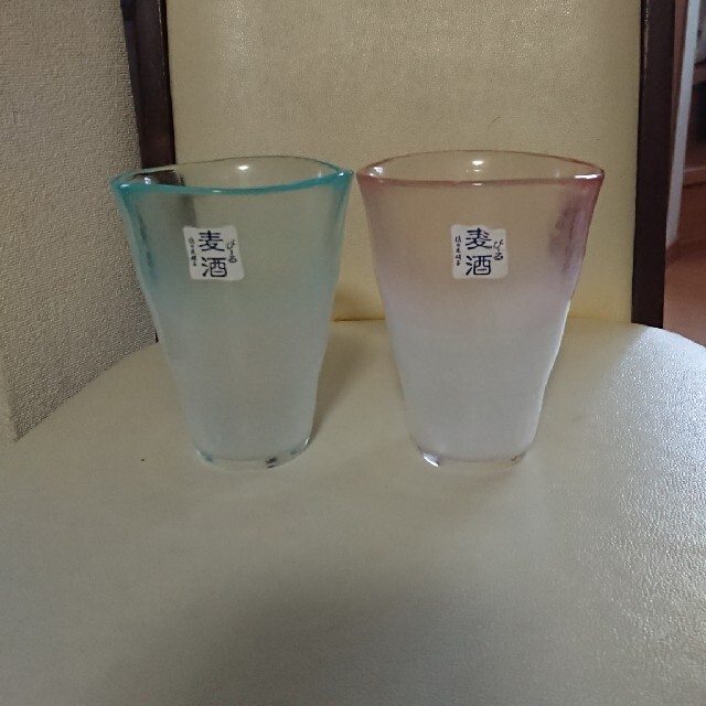 東洋佐々木ガラス(トウヨウササキガラス)の佐々木硝子 麦酒 ペアアワダチグラスセット 泡立ちぐらす揃 2点セット インテリア/住まい/日用品のキッチン/食器(グラス/カップ)の商品写真