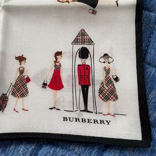 バーバリー(BURBERRY)の⭐️お値下げ⭐️新品⭐️バーバリー ハンカチ 女の子柄(ハンカチ)