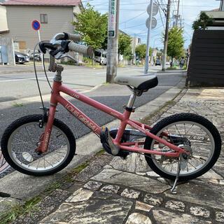 ルイガノ(LOUIS GARNEAU)のルイガノ 16インチ 自転車 子供用 ピンク(自転車)