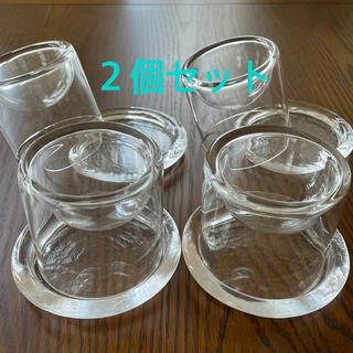 スガハラ(Sghr)のkurumi様専用: スガハラ 3D立体皿・受け皿 Sサイズ 2個セット(食器)