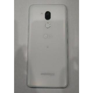 エルジーエレクトロニクス(LG Electronics)の【美品】Android One X5 ミスティックホワイト(スマートフォン本体)