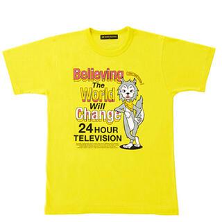 ジャニーズ(Johnny's)の【未使用未開封】24時間テレビ 2021年 チャリTシャツ 黄色 SS(Tシャツ(半袖/袖なし))