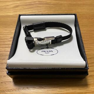 プラダ(PRADA)のPRADA ナイロン ブレスレット ブラック M(ブレスレット/バングル)
