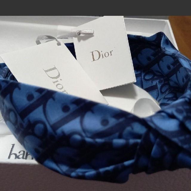 baby Dior(ベビーディオール)のDior カチューシャ リボン  キッズ/ベビー/マタニティのこども用ファッション小物(その他)の商品写真