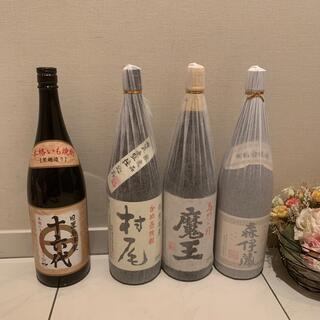 森伊蔵 魔王 村尾 十六代1800ml プレミアム焼酎3本セット+1本3M(焼酎)