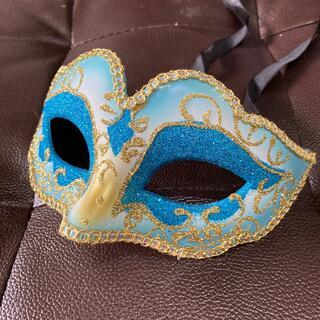 仮装マスク ブルーミニ 未使用品(小道具)