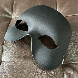 仮装仮面 マスク ブラック 未使用品(小道具)