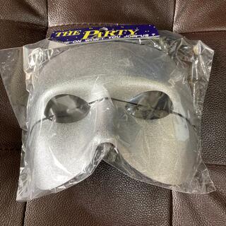 仮装マスク シルバー 未使用品(小道具)