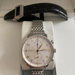 インターナショナルウォッチカンパニー(IWC)の【ナガマツ様専用】IWC ポルトギーゼ クロノグラフ金針(腕時計(アナログ))