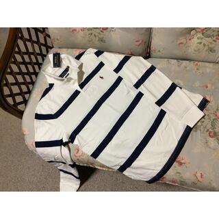 ラルフローレン(Ralph Lauren)の新品☆ラルフローレン ラガーシャツ US L 白&紺(その他)