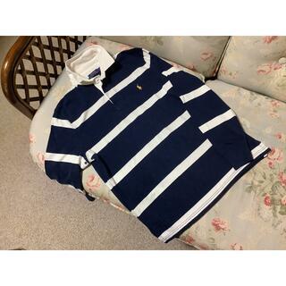 ラルフローレン(Ralph Lauren)の新品☆ラルフローレン ラガーシャツ US L 紺&白(その他)