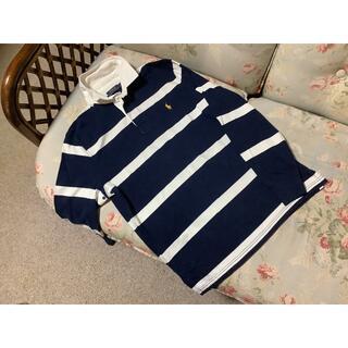 ラルフローレン(Ralph Lauren)の新品☆ラルフローレン ラガーシャツ US M 紺&白(その他)