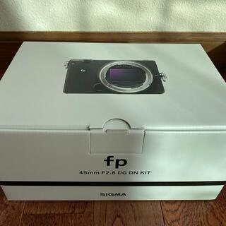 シグマ(SIGMA)の新品SIGMA fp+45mm F2.8 DG DN Contemporary(ミラーレス一眼)