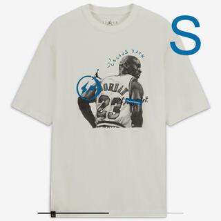 ナイキ(NIKE)のジョーダン × トラヴィススコット × フラグメント ショートスリーブTシャツ(Tシャツ/カットソー(半袖/袖なし))