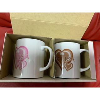 リズリサ(LIZ LISA)の新品!非売品!リズリサ ノベルティ★ペアマグカップ コップ★LIZ LISA(グラス/カップ)