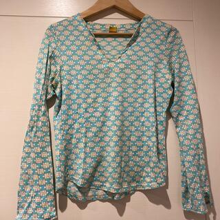 バーニーズニューヨーク(BARNEYS NEW YORK)のHERION ヘリオン カットソー Hマーク(Tシャツ/カットソー(七分/長袖))