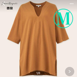 ユニクロ(UNIQLO)の本日お値下げ中 ユニクロ mame オーバーサイズTシャツ M(Tシャツ(半袖/袖なし))