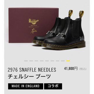 ニードルス(Needles)の【新品】Dr. Martens x Needles チェルシーブーツ 27㎝(ブーツ)