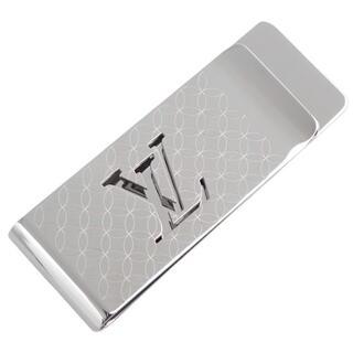 ルイヴィトン(LOUIS VUITTON)のルイ・ヴィトン パンス・ビエ・シャンゼリゼ シルバー銀 40802001465(マネークリップ)