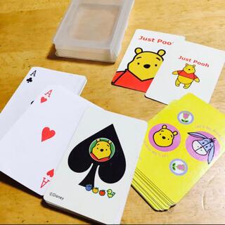 クマノプーサン(くまのプーさん)の美品!プーさん トランプ カードゲーム ディズニー(トランプ/UNO)