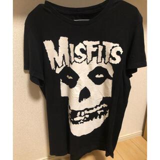 マジカルモッシュミスフィッツ(MAGICAL MOSH MISFITS)のMISFITS ミスフィッツ Tシャツ 海外製 バンT ヴィンテージ サイズL(Tシャツ/カットソー(半袖/袖なし))