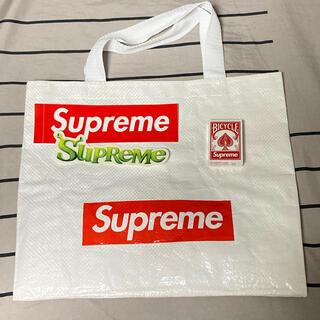 シュプリーム(Supreme)のSupreme ショッパー ノベルティ(トランプ) ステッカー 2種(ショップ袋)