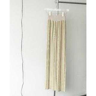 トゥデイフル(TODAYFUL)のtodayful   Stripe Knit Leggings (レギンス/スパッツ)