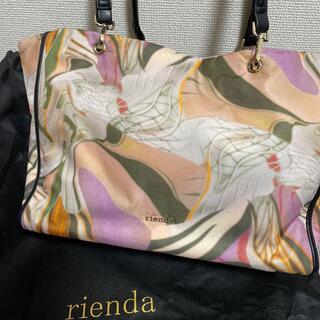 リエンダ(rienda)の新品rienda.riendy柄BAG(トートバッグ)
