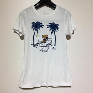 スヌーピー(SNOOPY)のハワイ限定【snoopy】日焼けスヌーピーTシャツ モニホノルル Hawaii(Tシャツ(半袖/袖なし))