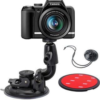 EXSHOW 一眼レフカメラ用大型吸盤マウント 車載カメラマウント(その他)