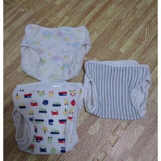 ニシキベビー(Nishiki Baby)のLuca様専用 布オムツカバー 80サイズ2枚と90サイズ1枚(ベビーおむつカバー)