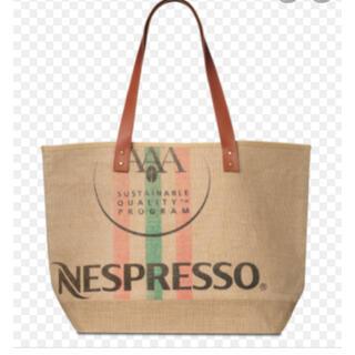 ネスレ(Nestle)のNESPRESSO ジュートトートバッグ(トートバッグ)