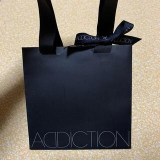 アディクション(ADDICTION)のアディクション addiction 紙袋(ショップ袋)