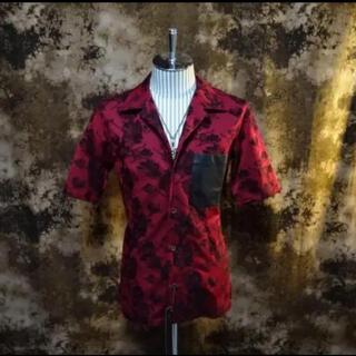 イサムカタヤマバックラッシュ(ISAMUKATAYAMA BACKLASH)の未使用品!!(定価27500)バックラッシュBACKLASH・ジャガードシャツ(シャツ)