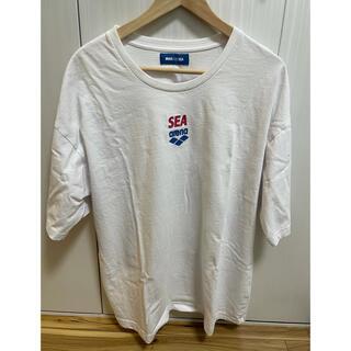 アリーナ(arena)のwind and sea × arena Tシャツ Lサイズ(Tシャツ/カットソー(半袖/袖なし))