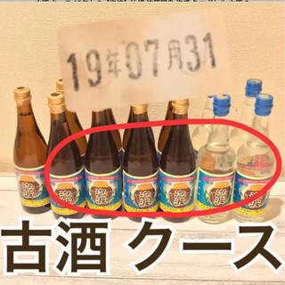 古酒 クース 13年もの【泡波】沖縄 波照間島 泡盛 ミニボトル 6本セット(焼酎)