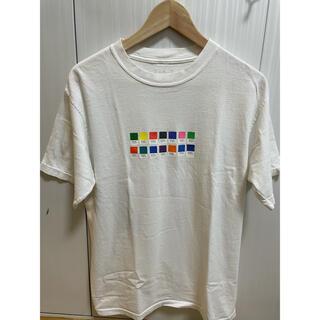 エレクトリックコテージ(ELECTRIC COTTAGE)のエレクトリックコテージ × PANTONE Tシャツ M フラグメント(Tシャツ/カットソー(半袖/袖なし))