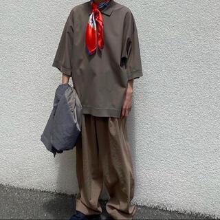 Vintage scarf ビビッドカラー オレンジ HERMES サンローラン(バンダナ/スカーフ)
